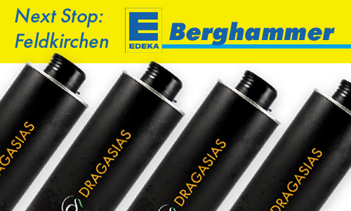 Next Stop: EDEKA Berghammer in Feldkirchen.