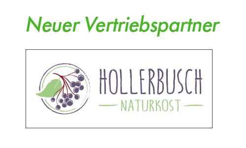 Neuer Vertriebspartner:  Hollerbusch Naturkost | Dragasias Foods